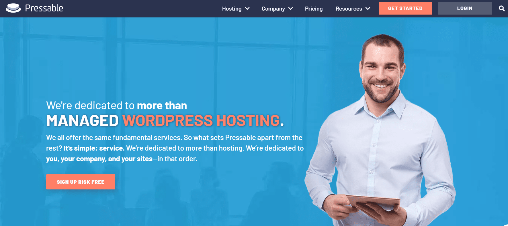 Managed WordPress Hosting from Pressable