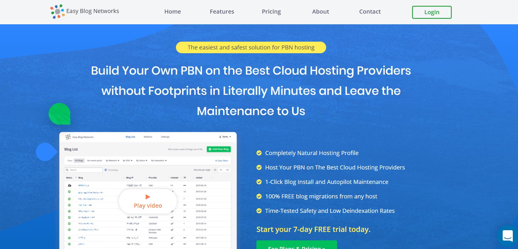 PBN Hosting and Autopilot Maintenance   Easy Blog Networks