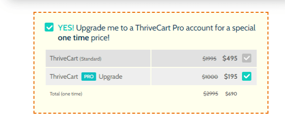 ThriveCart- Pricing